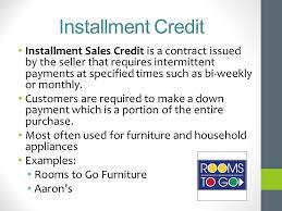 5.01 Understand Credit Management - Ppt Video Online Download
