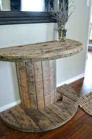 wood spool table wooden spool table full size of home design cable spool tables cable spools