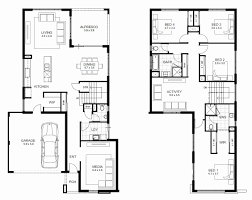 57 inspirational collection 2 story house floor plans with measurements