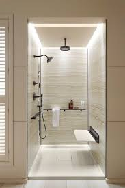 pleasant shower lighting home designing