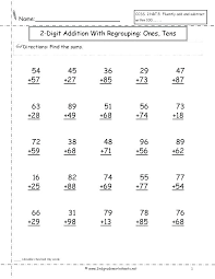 Triple Digit Addition Worksheets 1 2 Practice Adding Math Worksheet ...