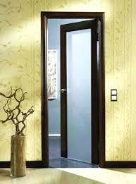 modern glass interior doors wood interior door with frosted glass insert modern frosted glass interior doors