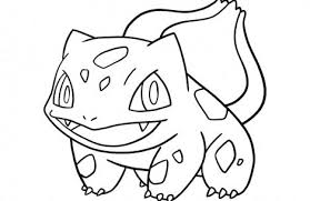 Small Picture pokemon coloring pages bulbasaur Just Colorings