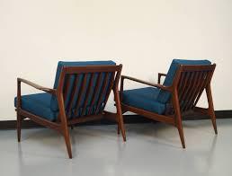 danish modern lounge chairs by ib kofodlarsen at stdibs