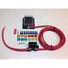 fuse box distribution kit with ready made leads 10 way fuse box 10 way fuse box 10 Way Fuse Box #47