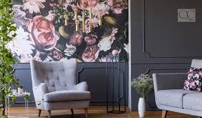 paint vs wallpaper an interior