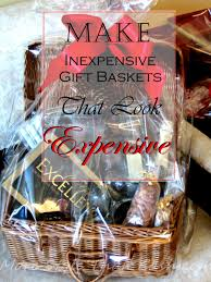Make Inexpensive Gift Baskets that Look Expensive
