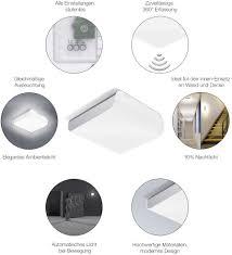 Steinel 052515 Led Plafondlamp Met Bewegingsmelder Energielabel Led 95 W Warm Wit Rvs