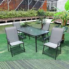 bistro garden furniture glasstop dining