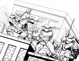 An Interesting TMNT Coloring Pages — ALLMADECINE Weddings