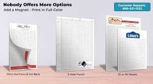 Graph Paper Pads 4 X 6 Printpps Com