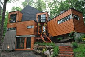 Cargo Shipping Container Homes shipping container homes. diseo con 3  containers prefab container