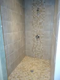 showers for small bathrooms 2. Secondary Bath 2 - We Utilized Daltile Sandalo Castillian Gray With Mosaic To Achieve This Modern And Clean Shower Design. Showers For Small Bathrooms B