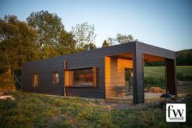 maison à ossature bois au mont dore
