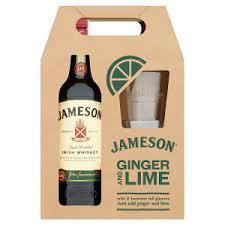 jameson 70cl 2 gl gift set