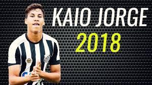 Kaio Jorge • 2018 • Santos • Magic Goals & Skills • HD - YouTube