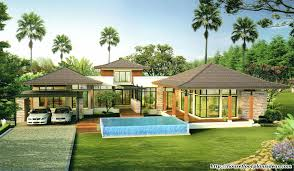 Tropical style  House floor plans and Small modern house plans on    Tropical style  House floor plans and Small modern house plans on Pinterest
