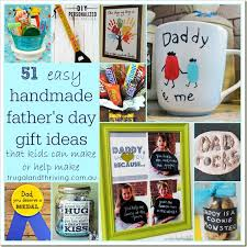 51 easy handmade father s day gift ideas that kids can make or help make a