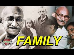 Mahatma Gandhi Family With Parents Wife Sons Brother And Sister Photos