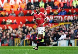 Tim FosuMensah Manchester United during Barclays Premier Redaktionelles  Stockfoto – Stockbild