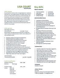 web developer resume sample web designer examples and get template gallery of web developer resume sample