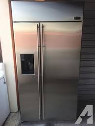 ge monogram refrigerator. Ge Monogram 42 Stainless Steel Built In Refrigerator For 7