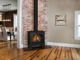 freestanding natural gas fireplaces the free standing gas fireplace provides the detailing of a wood burning