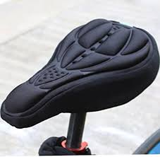 <b>Cycling Bike</b> 3D <b>Silicone</b> Gel Pad Seat Saddle Cover Soft Cushion ...