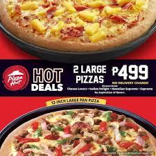pizza hut hot deals