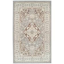 chocolate area rug gray brown area rug brown rug with leaves