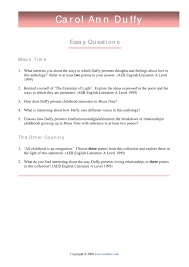 growing up essay personal statement sample essays for cover letter  duffy carol ann mean time poetry key stage english 2 preview growing up essay astoryaboutgrowingup