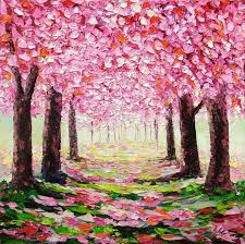 best 20 cherry blossom painting ideas on