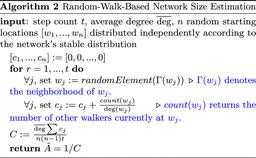 Ant Inspired Density Estimation Via Random Walks Pnas