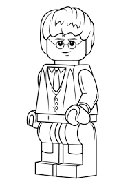 Small Picture Lego Harry Potter coloring page Free Printable Coloring Pages
