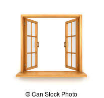 window sill clipart. Simple Sill Wooden Double Window Opened Isolated On White Background Intended Window Sill Clipart D