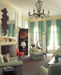 modern living room curtains. Refresh Your Living Room With Mint Curtains Modern