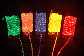 christmas rope lighting. LED Rope Lights Are Being Used In Ever More Creative Ways. Here 8 Christmas Lighting