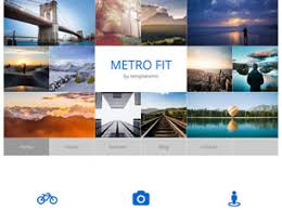Metro Template Metro Fit Free Website Template Free Css Templates Free Css