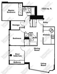 A Good Floor Plan Can Make All The Difference Between A Large Condo That  Feels Tiny, Or A Small Condo That Feels Spacious. Older Buildings Have  Larger Floor ...