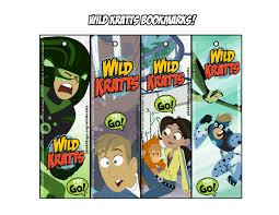 Bookmarks Wild Kratts