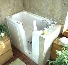 jacuzzi walk in shower bathtubs idea walk in tubs with jets walk in shower x walk