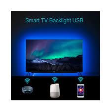Light Smart Tv Amazon Com Smart Strip Lights Alexa Tv Backlight Amazon