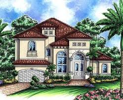 Two Story Mediterranean House Plan - 66237WE thumb - 02