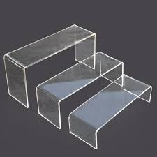 Plexiglass Display Stands U Shape Plexiglass Display Stand Acrylic Material Free Standing 37