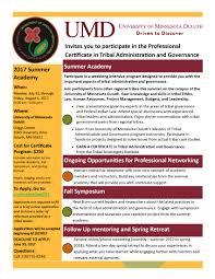 Umd Offers 1 Week Summer Certificate In Tribal Administration