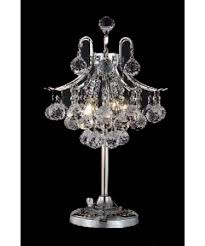 well known lighting spectacular mini chandelier table lamp for modern living with regard to crystal
