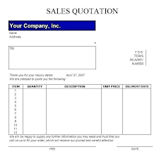Services Quotation Template Formal Quote Template
