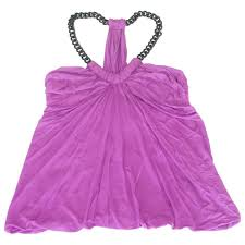 Camisole Yigal Azrouel Purple Size 2 0 5 In Synthetic 5968887