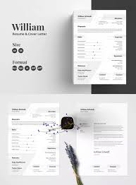 Resume Template Ai Eps Psd Ms Word A4 Us Letter Size Resume
