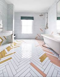Herringbone Kitchen Floor Watch Out Subway Tile Herringbone Might Be The Coolest New Tile